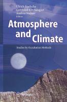 Atmosphere and Climate Studies by Occultation Methods için kapak resmi