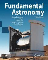 Fundamental Astronomy için kapak resmi