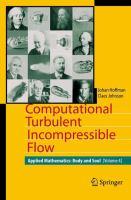 Computational Turbulent Incompressible Flow Applied Mathematics: Body and Soul 4 için kapak resmi
