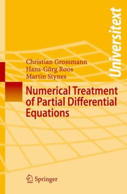 Numerical Treatment of Partial Differential Equations Translated and revised by Martin Stynes için kapak resmi