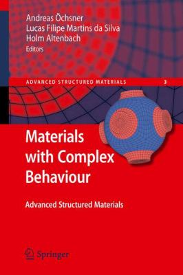 Materials with Complex Behaviour Modelling, Simulation, Testing, and Applications için kapak resmi