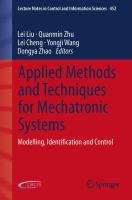 Applied Methods and Techniques for Mechatronic Systems Modelling, Identification and Control için kapak resmi
