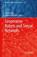 Cooperative Robots and Sensor Networks için kapak resmi