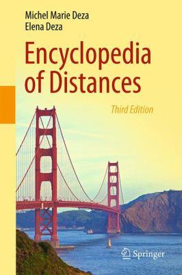 Encyclopedia of Distances için kapak resmi