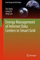 Energy Management of Internet Data Centers in Smart Grid için kapak resmi