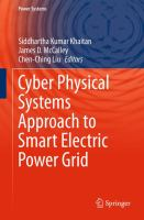 Cyber Physical Systems Approach to Smart Electric Power Grid için kapak resmi