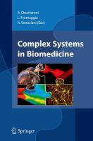 Complex Systems in Biomedicine için kapak resmi