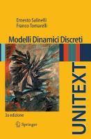 Modelli Dinamici Discreti için kapak resmi