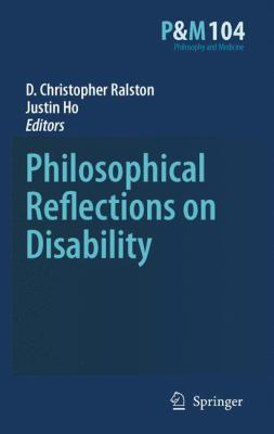 Philosophical Reflections on Disability için kapak resmi