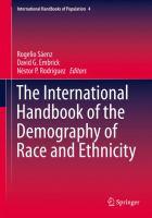 The International Handbook of the Demography of Race and Ethnicity için kapak resmi