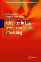 Advances in Low-Level Color Image Processing için kapak resmi