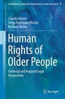 Human Rights of Older People Universal and Regional Legal Perspectives için kapak resmi