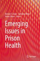 Emerging Issues in Prison Health için kapak resmi
