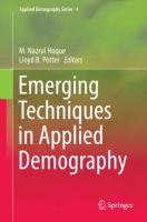 Emerging Techniques in Applied Demography için kapak resmi