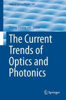 The Current Trends of Optics and Photonics için kapak resmi