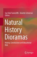 Natural History Dioramas History, Construction and Educational Role için kapak resmi