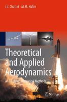 Theoretical and Applied Aerodynamics and Related Numerical Methods için kapak resmi