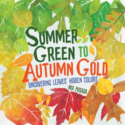 Cover image for Summer green to autumn gold : uncovering leaves' hidden colors