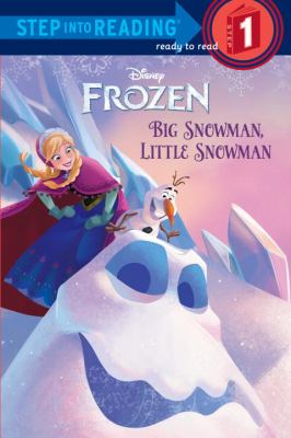 Big snowman, little snowman Disney Frozen