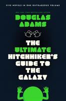 book jacket for the Hitchhiker's guide to the galaxy