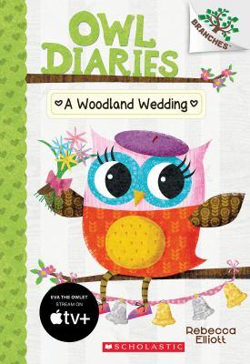 Cover image for A woodland wedding / Rebecca Elliott.