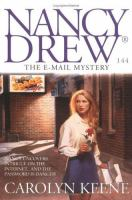 Cover image for The e-mail mystery / Carolyn Keene.