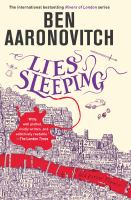 Cover image for Lies sleeping / Ben Aaronovitch.