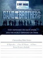 Cover image for Band of Brothers [DVD] / HBO presents ; in association with DreamWorks and Playtone ; producer, Mary Richards ; executive producers, Tom Hanks, Steven Spielberg.