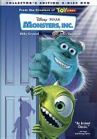 Cover image for Monsters, Inc. [DVD] / Walt Disney Pictures presents a Pixar Animation Studios Film ; directed by Pete Docter ; co-directed by Lee Unkrich, David Silverman ; produced by Darla K. Anderson ; screenplay by Andrew Stanton, Daniel Gerson.