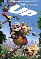 Cover image for Up [DVD] = La-Haut/ Walt Disney Pictures presents a Pixar Animation Studios film ; produced by Jonas Rivera ; story by Pete Docter, Tom McCarthy, Bob Peterson ; screenplay by Bob Peterson, Pete Docter ; directed by Pete Docter, Bob Peterson.