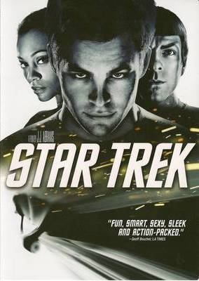 Cover image for Star trek [DVD] / Paramount Pictures and Spyglass Entertainment present a Bad Robot production ; produced by J.J. Abrams, Damon Lindelof ; written by Roberto Orci & Alex Kurtzman ; directed by J.J. Abrams.