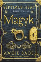 Cover image for Magyk [compact disc] / by Angie Sage.