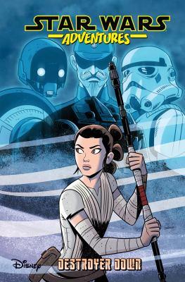 Cover image for Star Wars adventures. Destroyer down / writer Scott Beatty ; artists Derek Charm and Jon Sommariva.