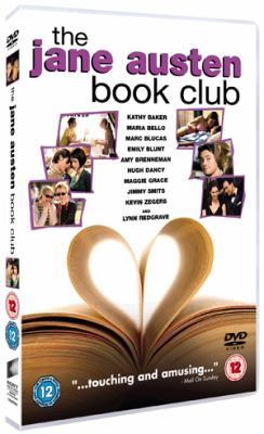 Cover image for The Jane Austen book club [DVD] / Sony Pictures Classics presents a John Calley/Robin Swicord production in association with Mockingbird Pictures ; produced by John Calley, Julie Lynn, Diana Napper ; written for the screen and directed by Robin Swicord.