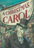 Cover image for A Christmas carol / by Charles Dickens ; art by Brett Helquist ; [abridged by Josh Greenhut].