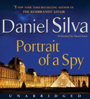 Cover image for Portrait of a spy [compact disc] / Daniel Silva.