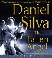 Cover image for The fallen angel [compact disc] / Daniel Silva.
