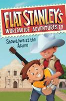 Cover image for Showdown at the Alamo / created by Jeff Brown ; written by Josh Greenhut ; pictures by Macky Pamintuan.
