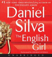 Cover image for The English girl [compact disc] / Daniel Silva.