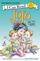 Cover image for JoJo and the twins / by Jane O'Connor ; pictures by Robin Preiss Glasser.