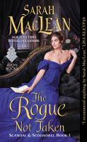 Cover image for The rogue not taken / Sarah Maclean.