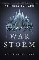 Cover image for War storm / Victoria Aveyard.