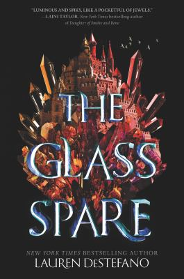 Cover image for The glass spare / Lauren DeStefano.