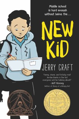 Cover image for New kid / Jerry Craft ; with color by Jim Callahan.