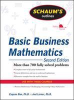 Cover image for Schaum's outline of basic business mathematics / Eugene Don, Joel Lerner.