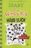 Cover image for Diary of a wimpy kid. Hard luck / by Jeff Kinney.