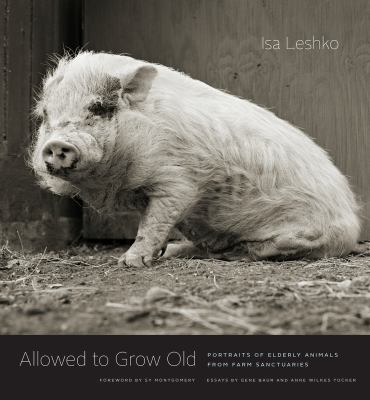 Cover image for Allowed to grow old : portraits of elderly animals from farm sanctuaries / Isa Leshko ; foreword by Sy Montgomery ; essays by Gene Baur and Anne Wilkes Tucker.