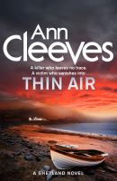 Cover image for Thin air / Ann Cleeves.
