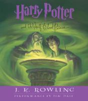 Cover image for Harry Potter and the half-blood prince [compact disc] / J. K. Rowling.