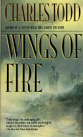 Cover image for Wings of fire / Charles Todd.